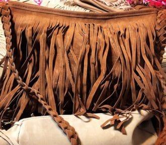 fringe purse bag