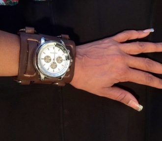 Wide Watch Cuff
