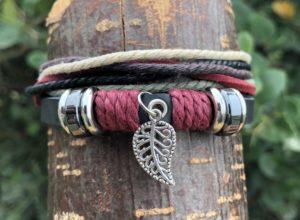 Shop leather charm bracelets