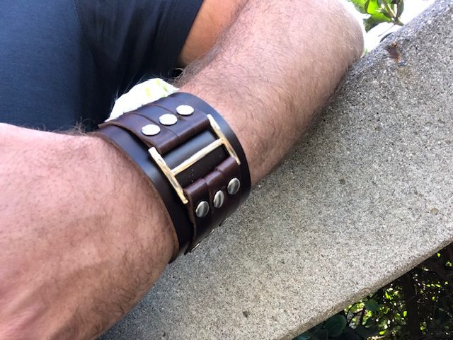 Leather Cuffs Men